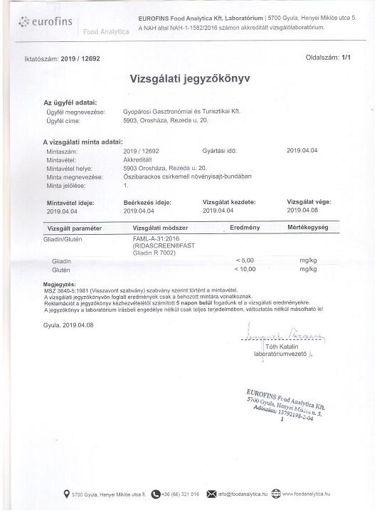 tejmentes étrend rendelés)